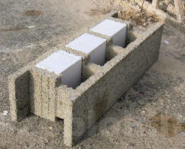 Blokelis Izoblok namo sienų statybai