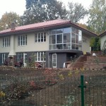 Pastatytas nams