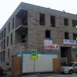 Daugiabučio namo statyba