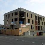 Daugiabučio namo statyba iš blokelių IZOBLOK