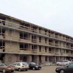 Namų statyba - pastatytas namas iš blokelių