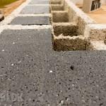Namo statyba iš izoblok blokelių, pradžia