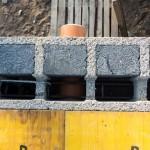 Namo statyba iš Izoblok blokelių,perdanga, 20160916